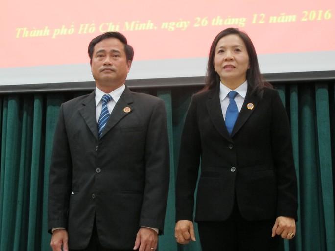 Ông Lê Thanh Phong và bà Trịnh Ngọc Thúy