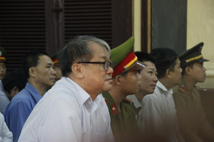 Cựu chủ tịch Ngân hàng Xây dựng Việt Nam tại tòa