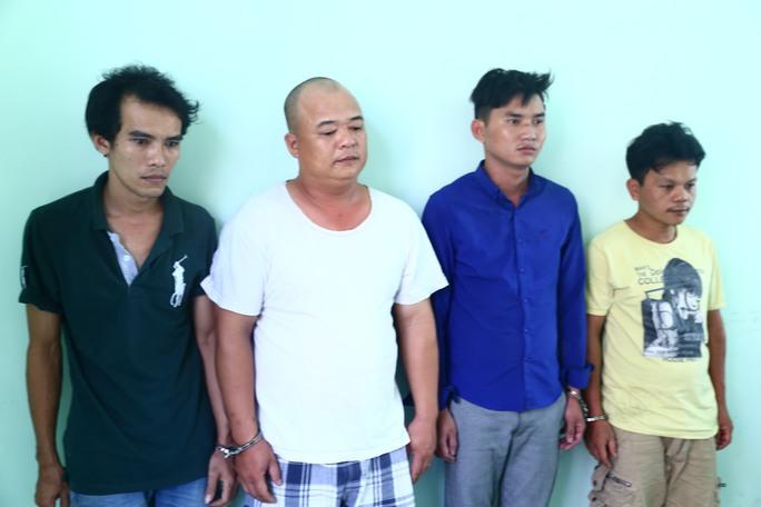 4 đối tượng bị bắt giữ