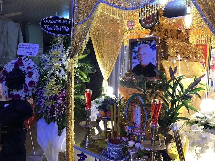 Tang lễ của NS Tám Lang được tổ chức tại Khu dưỡng lão Nghệ sĩ TPHCM