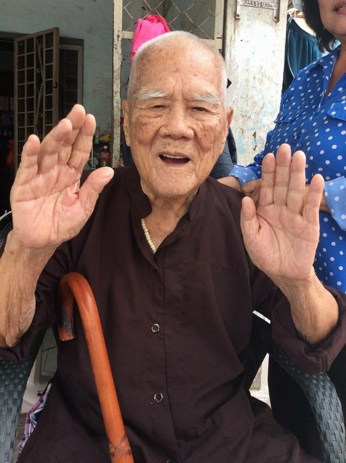 NS Tám Lang tại Khu dưỡng lão Nghệ sĩ TPHCM