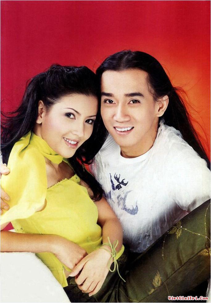 NS Ngọc Trinh và ca sĩ Minh Thuận