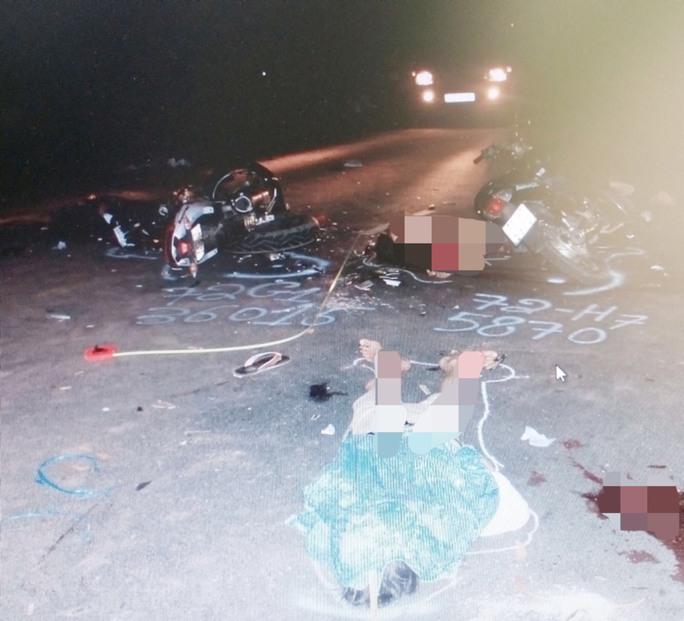 Vụ tai nạn xảy ra khiến 5 người tử vong