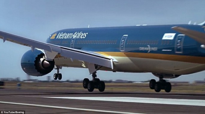 Máy bay Boeing787-9 của Vietnam Airlines