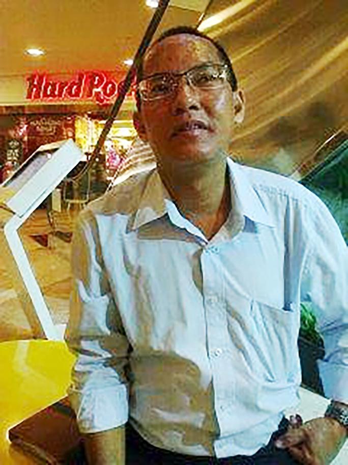 Ông Hoàng Phạm Mạnh Tùng (SN 1970) thường xuyên giả danh nhà báo