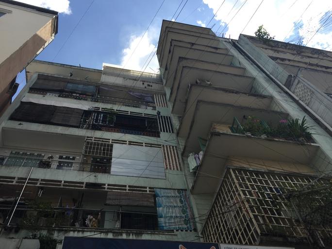 Toàn bộ chung cư có 80 căn hộ.