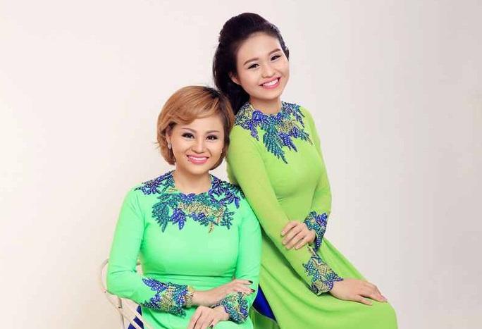 NS Lê Giang và con gái - NS Lê Lộc