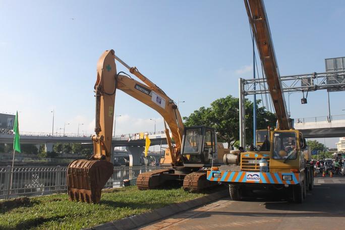 2 nhánh cầu kết nối khi đưa vào sử dụng sẽ giải quyết bài toán kẹt xe ở khu vực cầu Nguyễn Văn Cừ