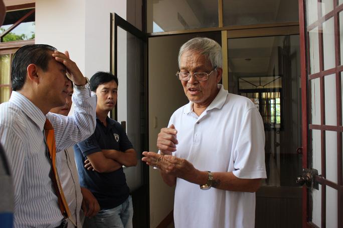 Ông Nguyễn Bùi khẳng định đó là tờ vé số trúng giải độc đắc