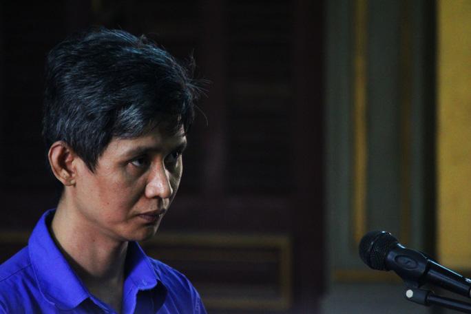 Bị cáo Đặng Công Minh tại phiên tòa.