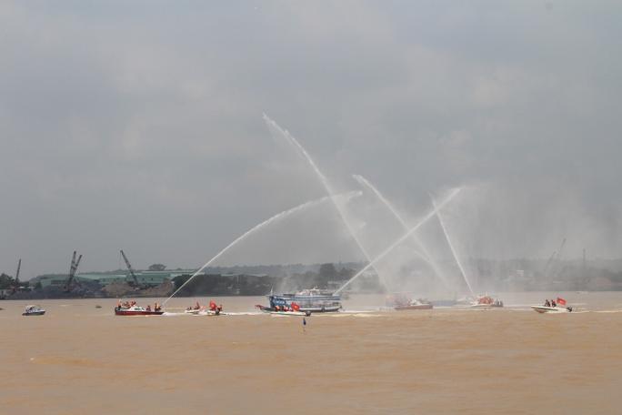 Các lực lượng đã hoàn toàn làm chủ tình hình trên sông