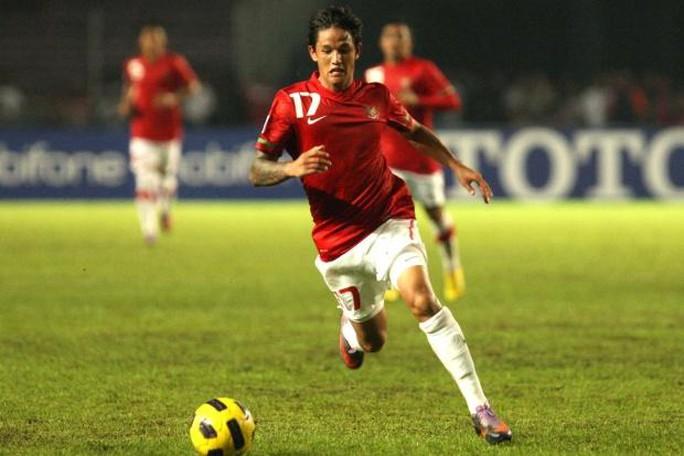 Irfan Bachdim lỡ dịp gặp Công Phượng ở trận giao hữu giữa Indonesia và Việt Nam vào ngày 9-10