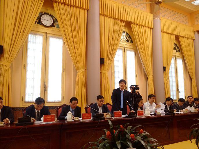 Ông Nguyễn Khánh Ngọc, Thứ trưởng Bộ Tư pháp, nói về Luật Đấu giá tài sản