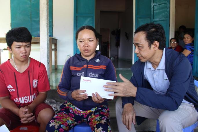 Và sự sẻ chia của quỹ Xã hội từ thiện Báo Người Lao Động
