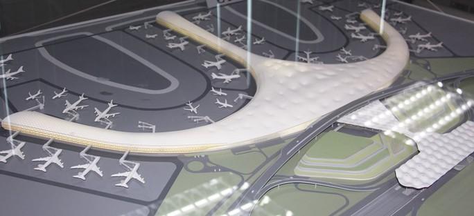 Và phương án thiết kế thứ ba sử dụng vật liệu bằng tre...