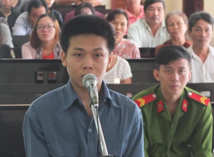 Bị cáo Phạm Thành Luân tại tòa