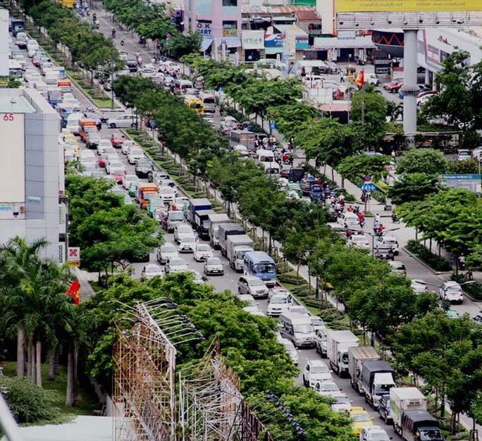 Các cơ quan chức năng sẽ huy động toàn bộ lực lượng nhằm giảm ùn tắc giao thông trong dịp Tết