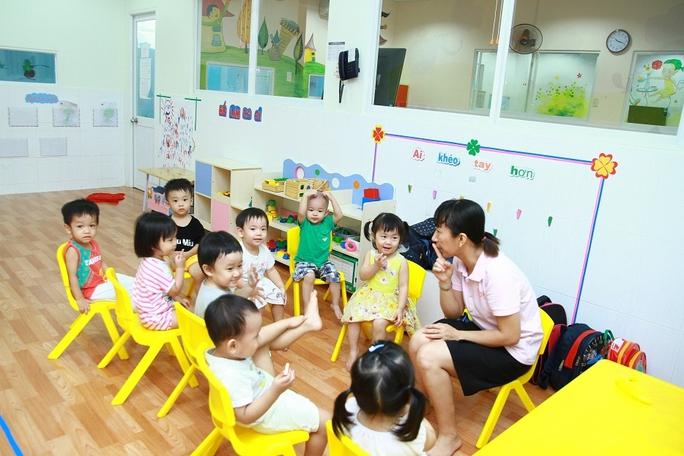 Một lớp học tại Trường Mầm non quốc tế Abi Bình Dương