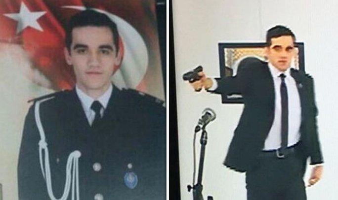 Mevlut Mert Altıntas thuộc lực lượng chống bạo động ưu tú của Ankara. Ảnh: Twitter