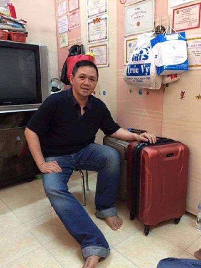 Minh Béo đã về đến nhà
