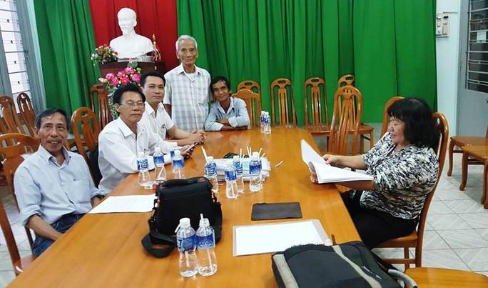 Buổi thương lượng để bồi thường cho ông Nén diễn ra vào ngày 31-8
