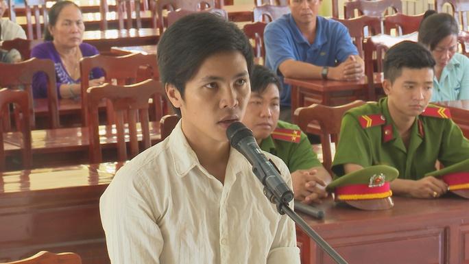 Bị cáo Dương Minh Chí tại tòa