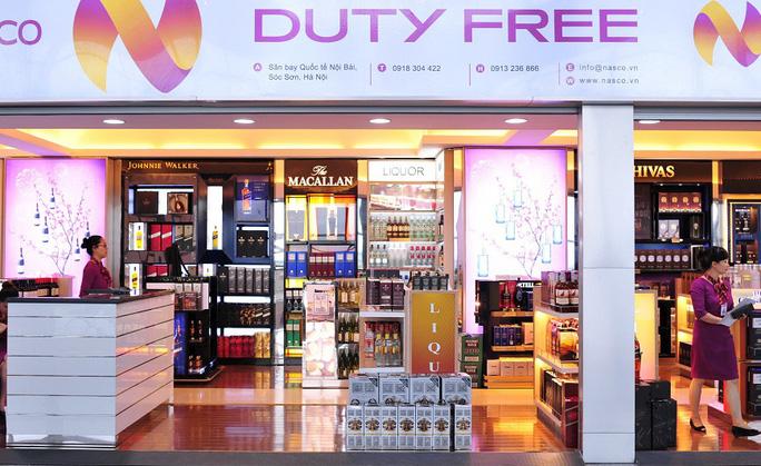 Một cửa hàng miễn thuế ở nhà ga T2 sân bay quốc tế Nội Bài - Ảnh minh hoạ