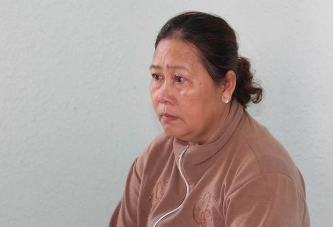 Bị can Huỳnh Thị Đớm