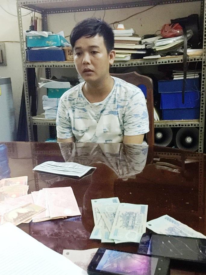 Nguyễn Văn Sang lúc bị bắt