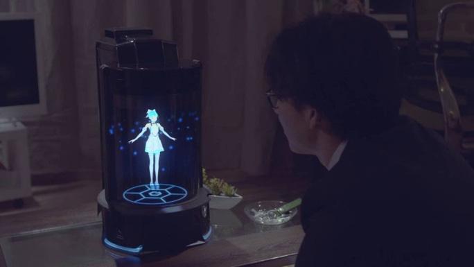 Thiết bị Gatebox và cô gái ảo mang tên Azuma HikariẢnh: VINCLU