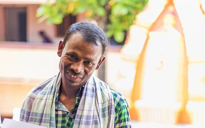 Ảnh chụp Nilambar Dhangdamajhi hồi tháng 8-2016. Ảnh: Reuters