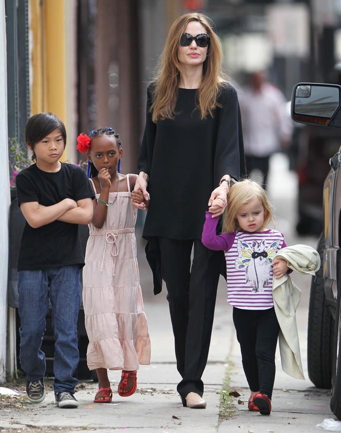 Angelina muốn nuôi cả 6 con