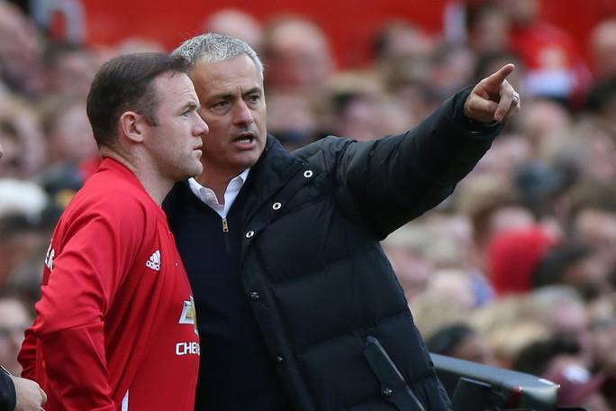 Rooney đã không còn là sự lựa chọn số 1 của HLV Mourinho