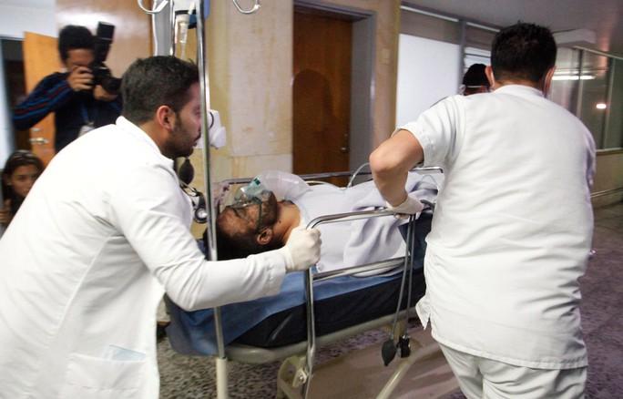 Ruschel được đưa vào bệnh viện La Ceja sau tai nạn và bây giời đã chuyển sang Somer Clinic, Rionegra