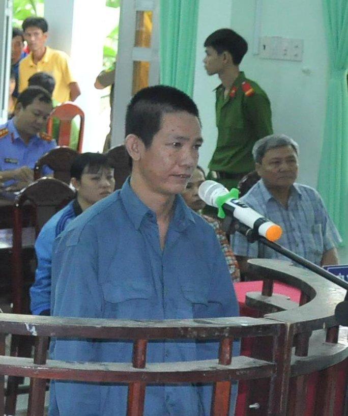 Bị cáo Bùi Văn Hiền trước tòa