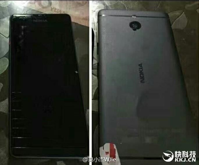 Nokia P với thiết kế kim loại nguyên khối. Ảnh: Weibo