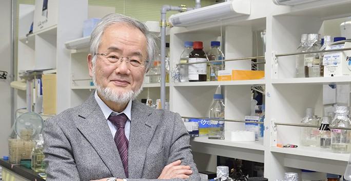 Ông Yoshinori Ohsumi. Ảnh: titech.ac.jp