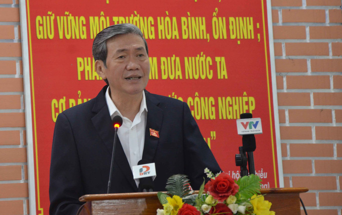 Ông Đinh Thế Huynh cho rằng các ý kiến của cử tri quận Cẩm Lệ đều rất xác đáng