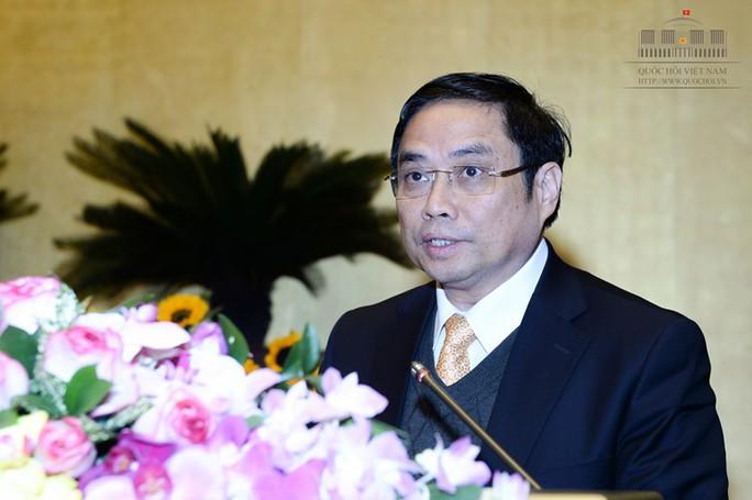 Ủy viên Bộ Chính trị, Trưởng Ban Tổ chức Trung ương Phạm Minh Chính-Ảnh: quochoi.vn