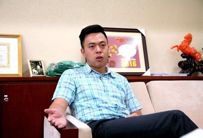 Ông Vũ Quang Hải trong một lần trả lời báo chí - Ảnh: TTO
