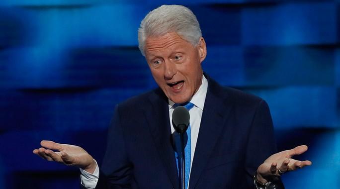 Cựu tổng thống Mỹ Bill Clinton. Ảnh: REUTERS