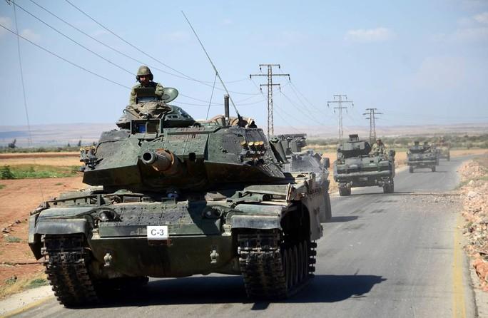 Mỹ vừa cử khoảng 40 đặc nhiệm tới hợp tác với lực lượng Thổ Nhĩ Kỳ chiến đấu ở khu vực biên giới Syria. Ảnh: AP