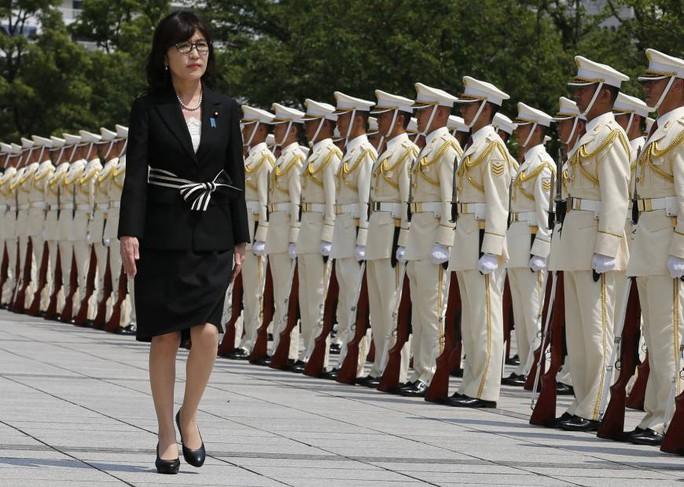 Bà Inada có quan điểm cứng rắn với Trung Quốc. Ảnh: AP