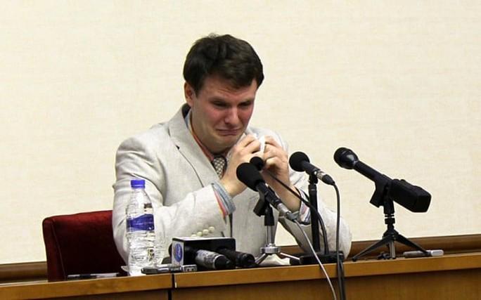 Đòi phía Triều Tiên thả tự do cho Otto F. Warmbier là một mục tiêu của phái đoàn Mỹ tới Triều Tiên lần này. Ảnh: Telegraph