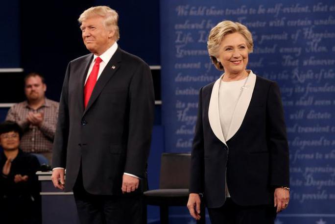 Cuộc tranh luận diễn ra vào giờ vàng tối 9-10 (giờ địa phương). Ảnh: Reuters