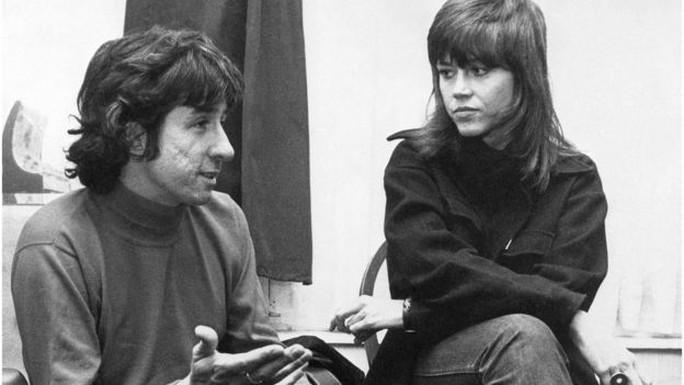 Ông kết hôn với nữ diễn viên Jane Fonda năm 1973. Ảnh: AP