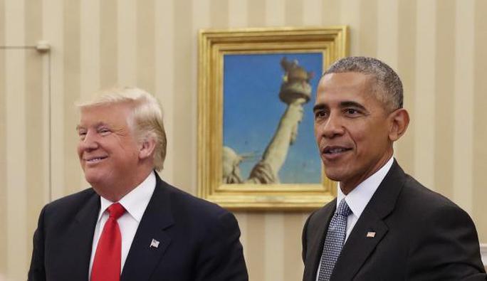 Từ ghét cay ghét đắng, ông Trump giờ đây chuyển qua rất thích một số điểm của Obamacare. Ảnh: AP