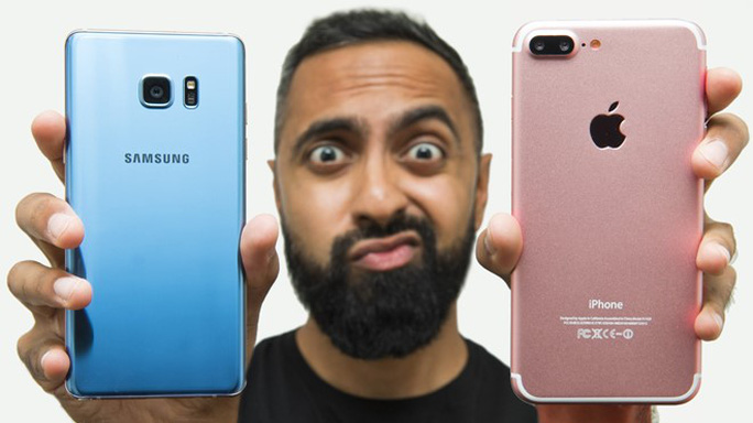 Người dùng Android trung thực hơn iPhone? Ảnh: Youtube.