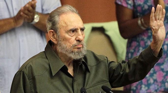 Nhà lãnh tụ cách mạng Cuba - Cựu chủ tịch Fidel Castro qua đời ở tuổi 90. Ảnh: Reuters