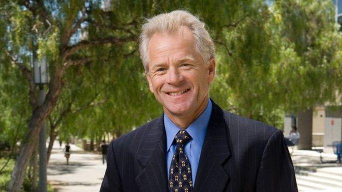 Học giả kinh tế Peter Navarro. Ảnh: UNIVERSITY OF CALIFORNIA